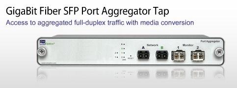 Net Optics Network Taps Gigabit Fiber Sfp Port Aggregator
